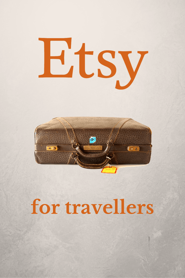 10 Awesome Travel Gifts on Etsy For Travel Friends