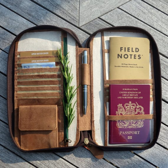 travel gear from etsy passport wallet
