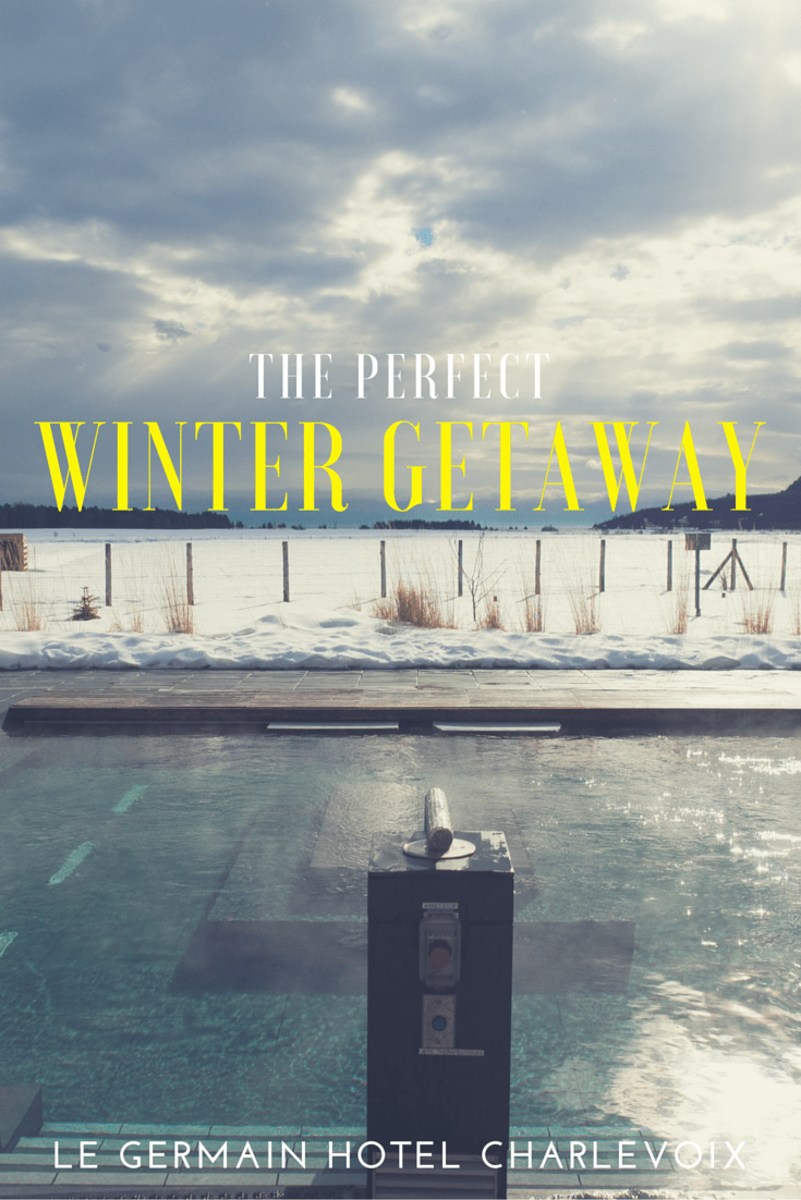 Le Germain Hotel Charlevoix - What makes this the perfect winter resort with its spa, proximity to Le Massif, great food, and chic rooms.