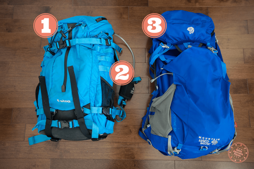 ethiopia packing list backpacks