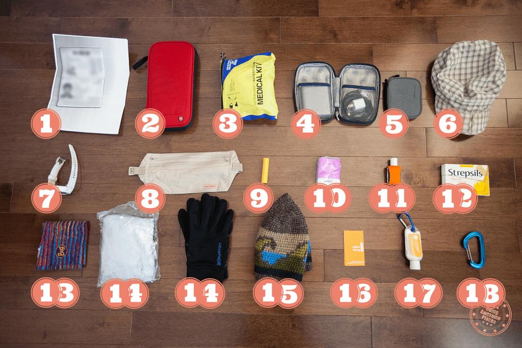 Packing Ethiopia - Daypack