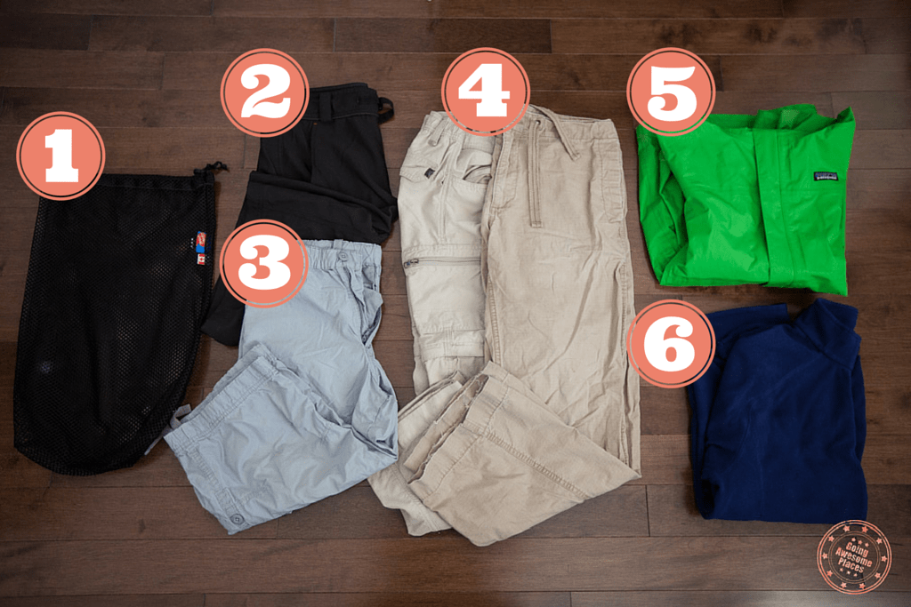 Packing Ethiopia - Pants and Jacket
