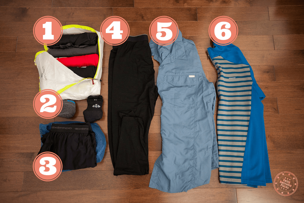 what to pack for ethiopia shirts and underwear