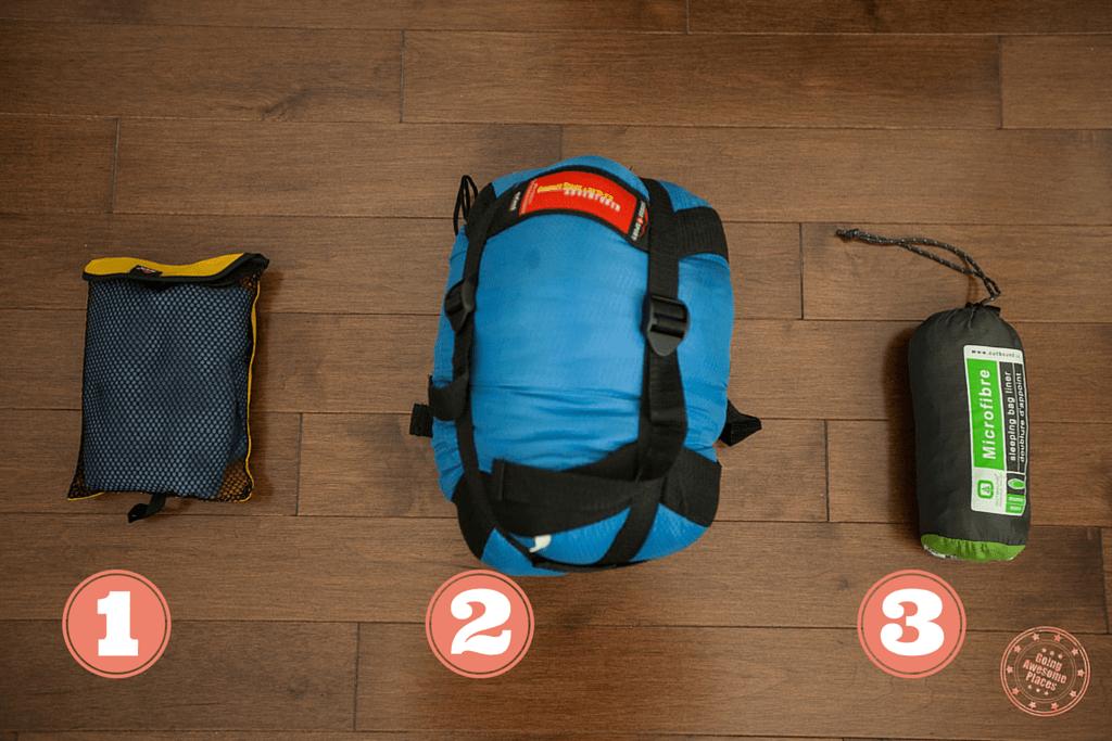 Packing Ethiopia - Sleeping Bag