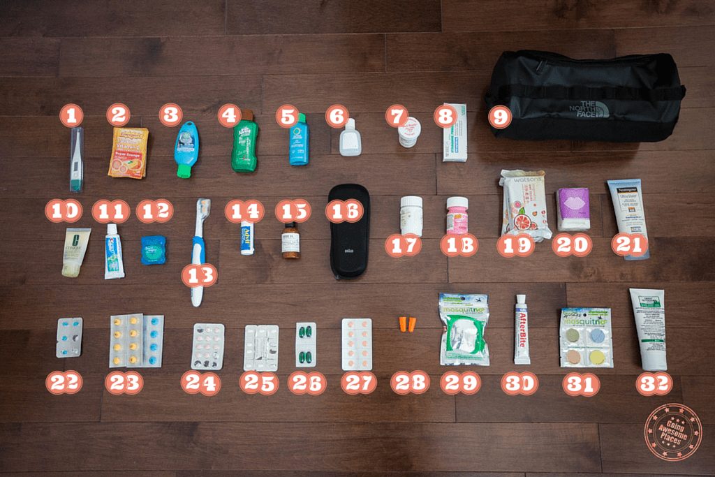 things you need to bring to ethiopia - toiletries