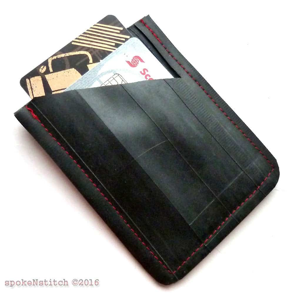 upcycled tire wallet travel gear from etsy