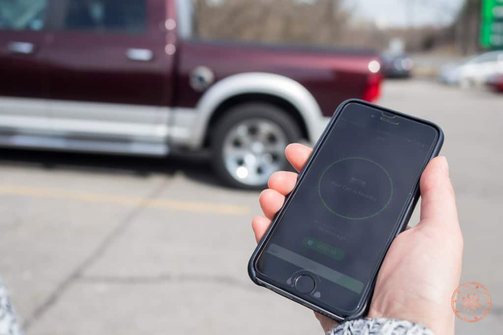 Finding Your Car in the Parking Lot with ZUS
