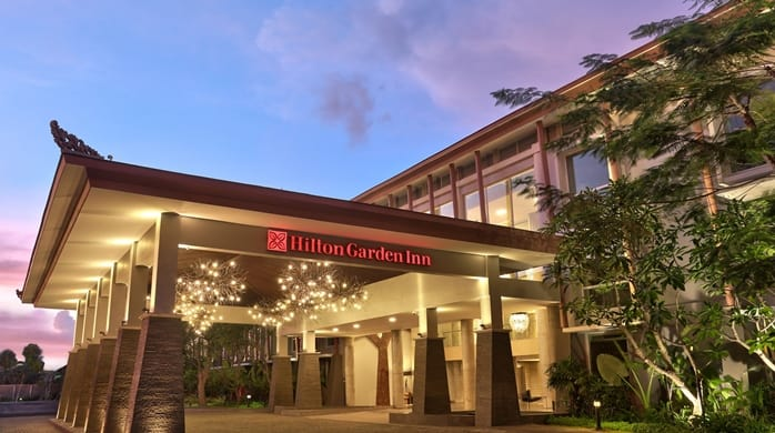 Hilton Garden Inn Bali category 1 5000 points