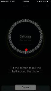ZUS-App-Calibrate