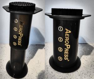 Aeropress compresses