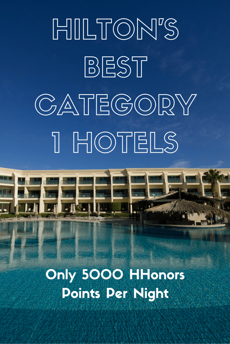 The best bargain and deal for Hilton Honors points is in category 1 but which are the best ones that only cost 5000 points? Here are my top 8 picks to help you maximize on your hotel loyalty points with Hilton properties. #hiltonhonors #travelhacking #hotelloyalty
