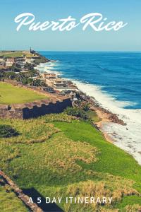 Puerto Rico Itinerary Pinterest