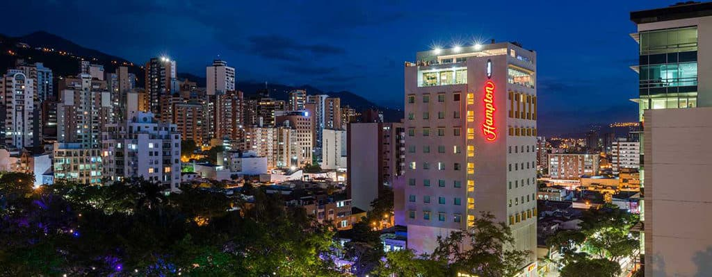 hampton by hilton bucaramangao colombia