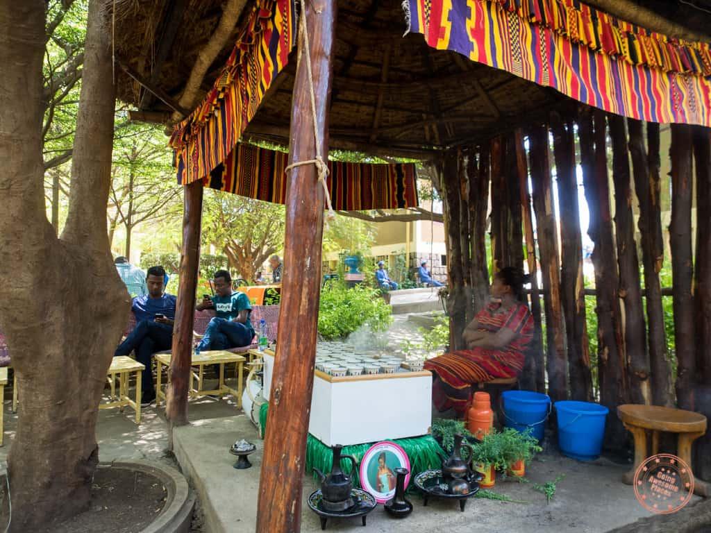 ethiopia coffee ceremony in arba minch