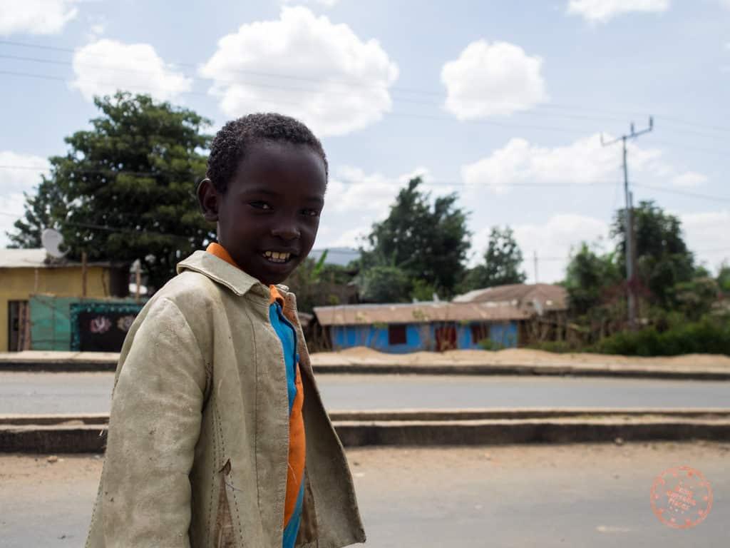 jinka ethiopia child that followed us around