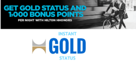 How to Get Instant Hilton HHonors Gold Status