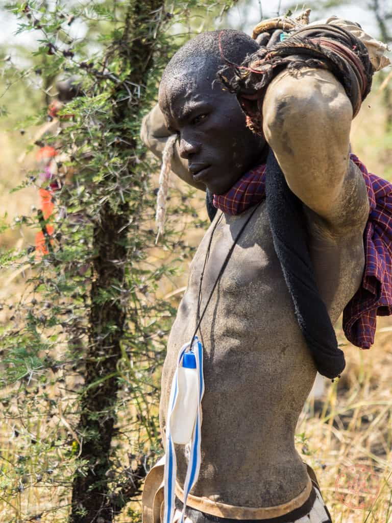 The one thing you immediately notice when you get to tribes like the Mursi is that they are built completely different from the modern Ethiopian. Instead of scrawny marathon running machines, you have hardened warriors built like tanks.