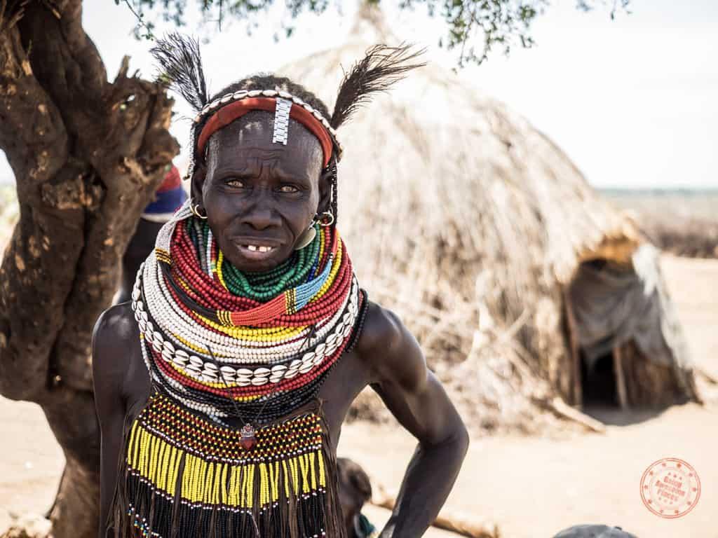 Nyangatom Tribe Woman