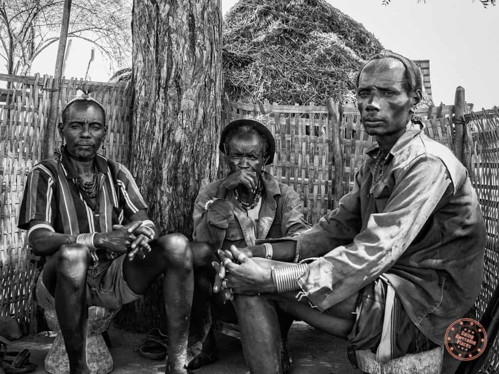 Men of Karo Tribe