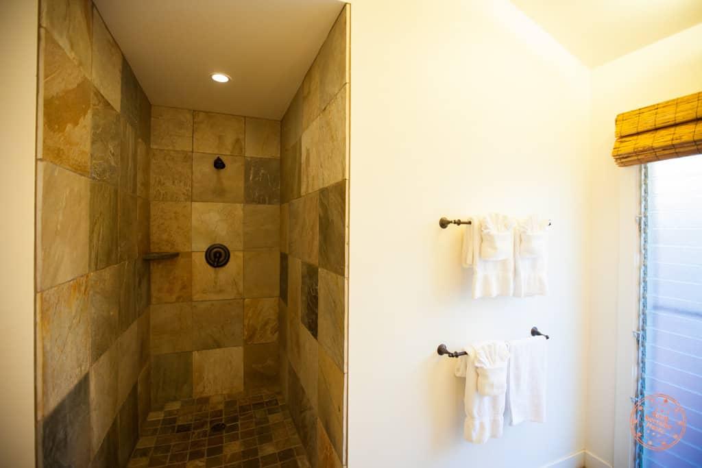 Aina Nalu Open Showers