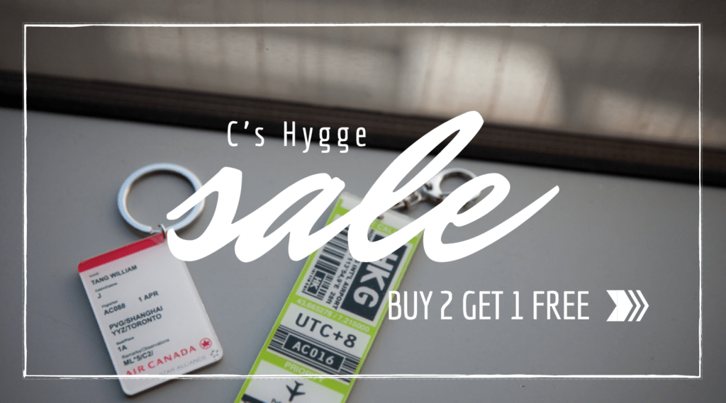C's Hygge Sale Banner