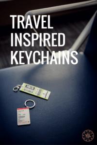 Travel Keychain Pinterest