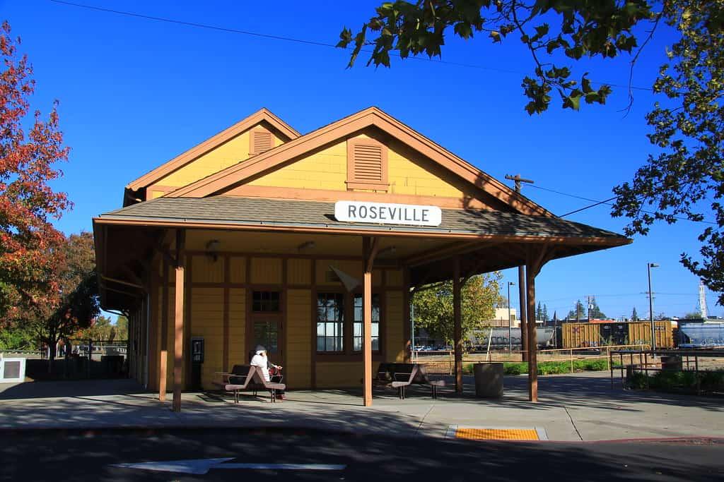roseville california train station
