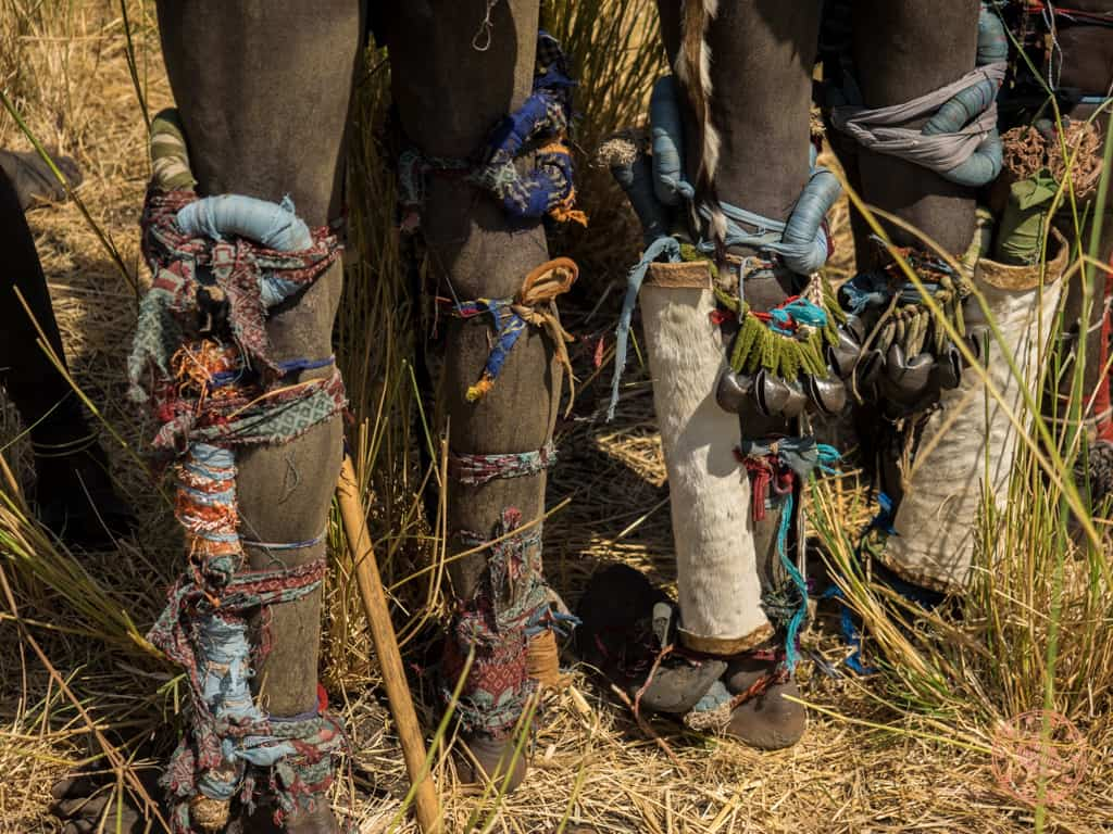 Warrior Leg Armour in donga fighting ethiopia