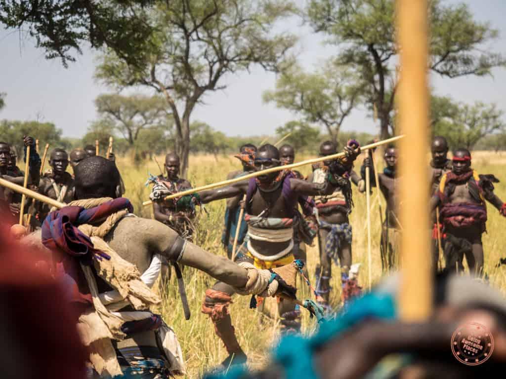 Ethiopian Omo Valley Donga Stick Fighting