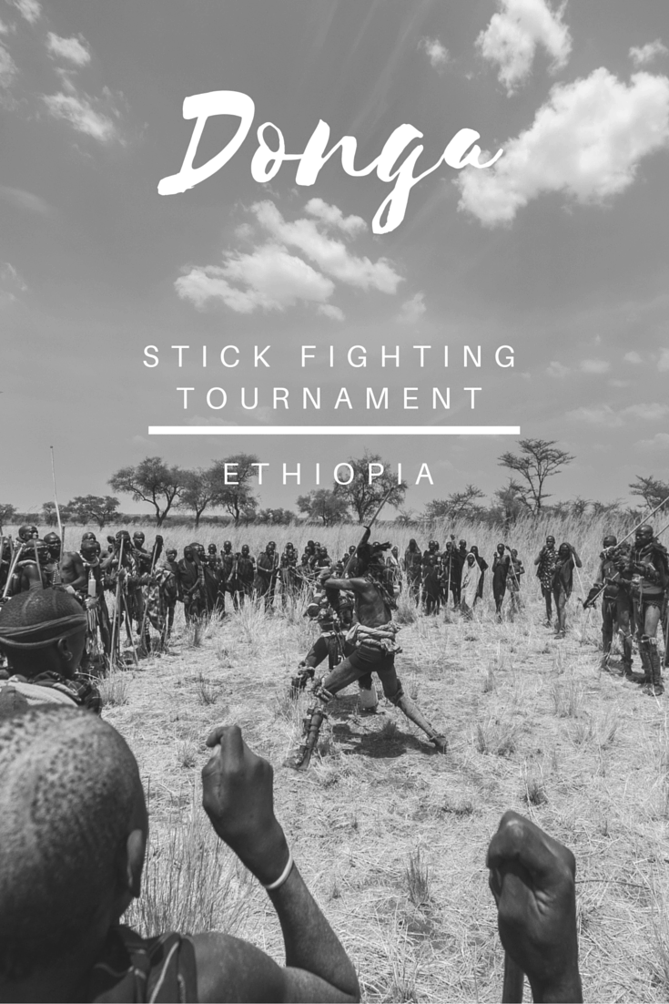 Donga Stick Fighting Tournament in Omo Valley, Ethiopia - Brutal and Unexpected