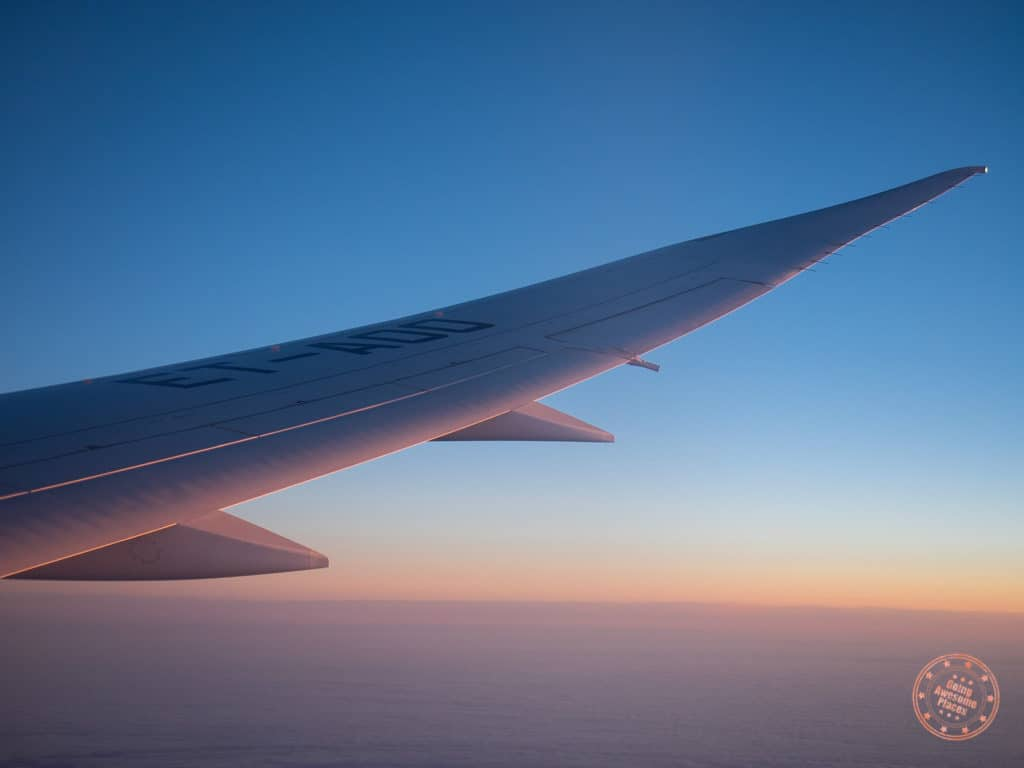 Ethiopian Air Flight to Addis Ababa