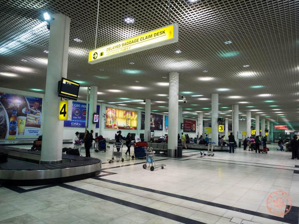 Inside Addis Ababa Abole International Airport Carousel