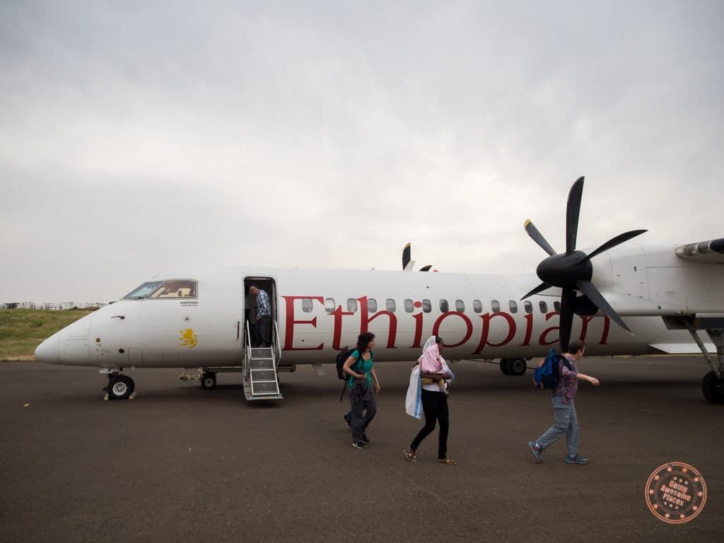 Ethiopian Airlines Flight to Arba Minch