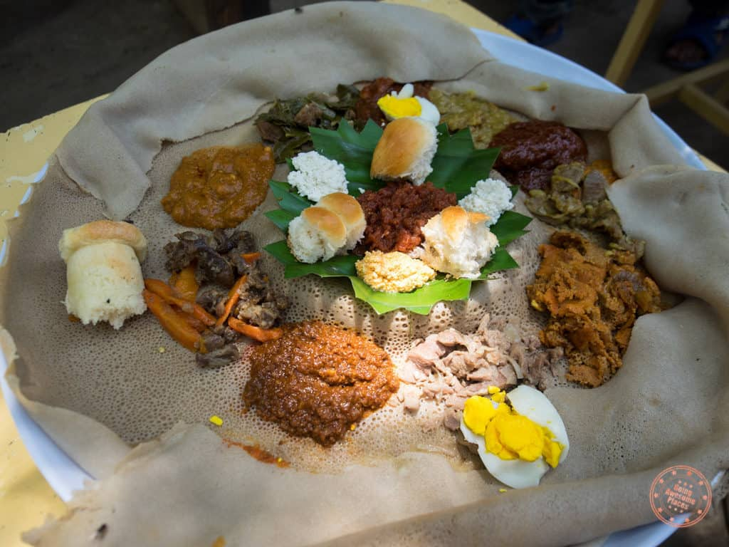 example food in ethiopia omo valley trip planning guide injira mixed plate