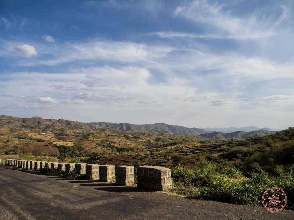 Beautiful Landscape Driving in Omo Valley