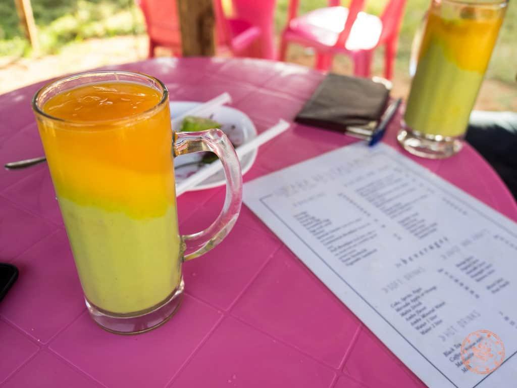 Favourite Mango Papaya Avocado Mixto Drink
