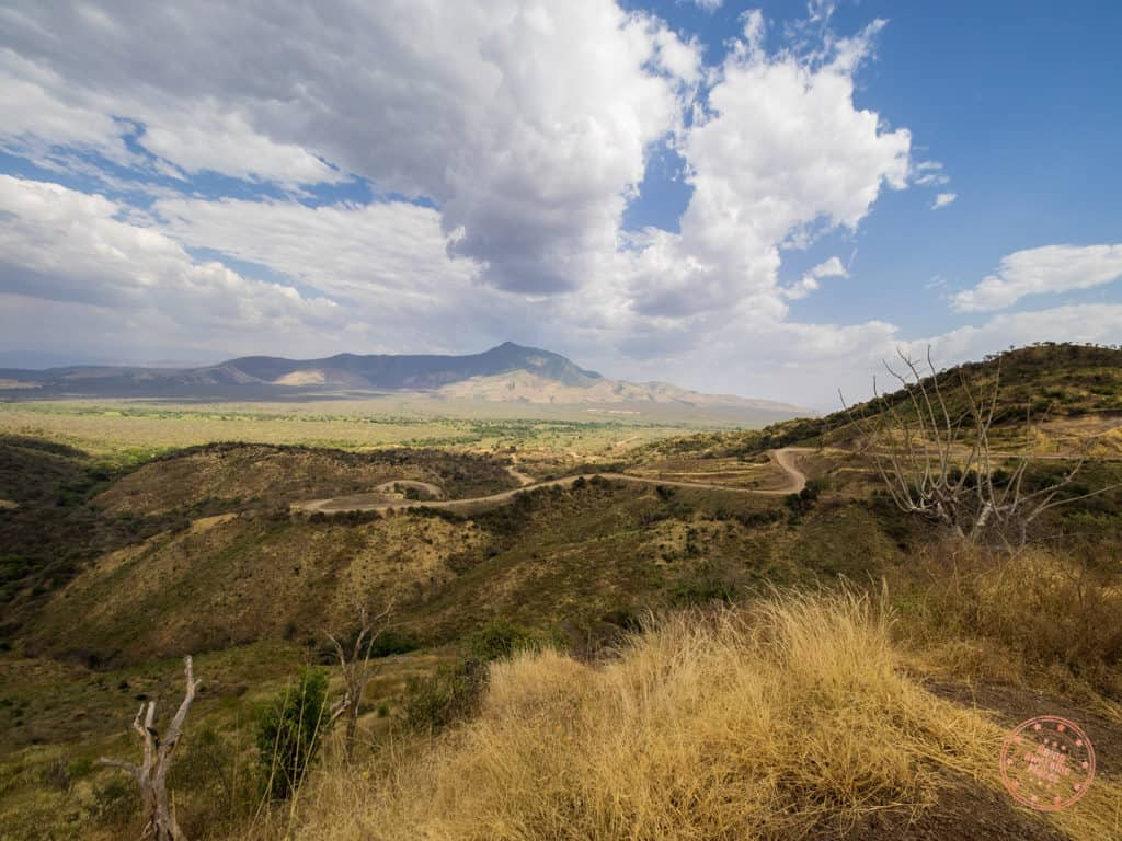 9 days in ethiopia winding roads in mago national park