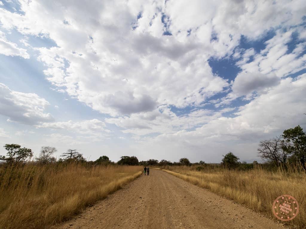 Mursi Tribe Gravel Roads