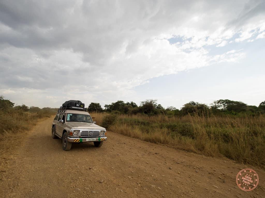 4x4 Pick Up in Mursi Tribe