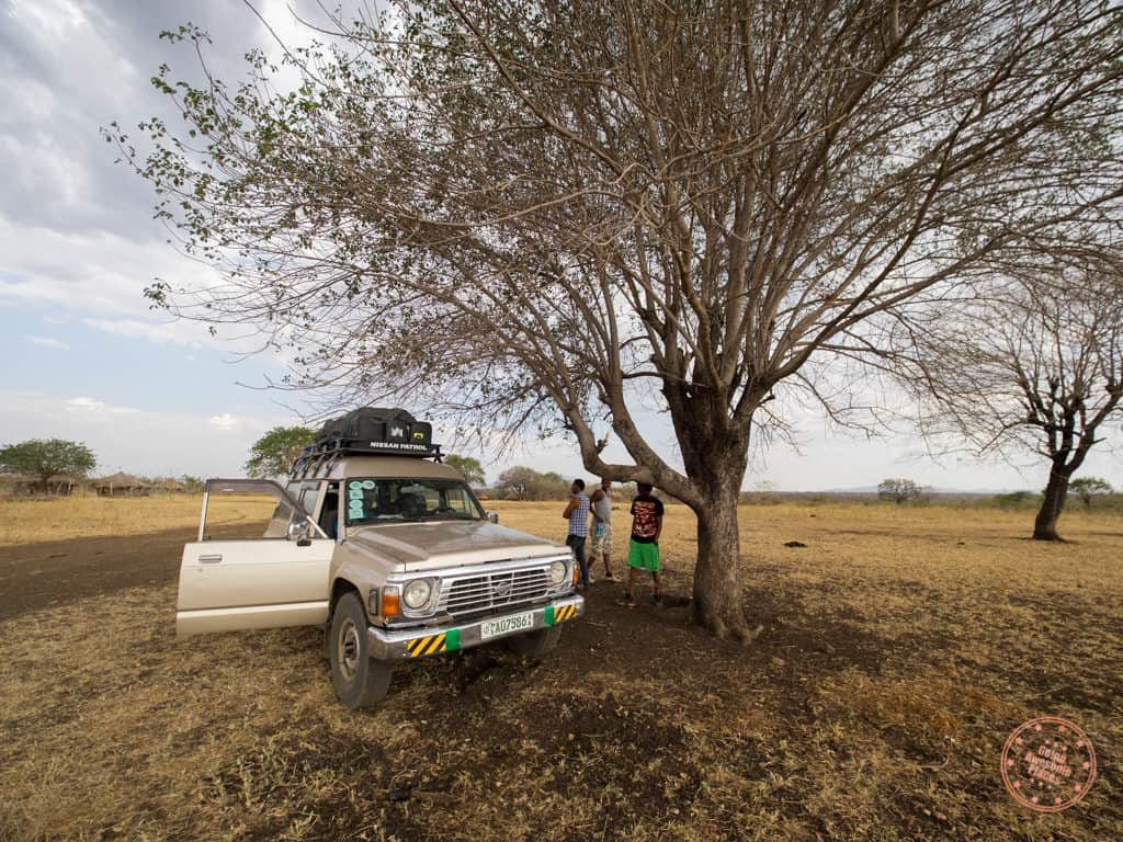 Mursi Tribe Camping Area