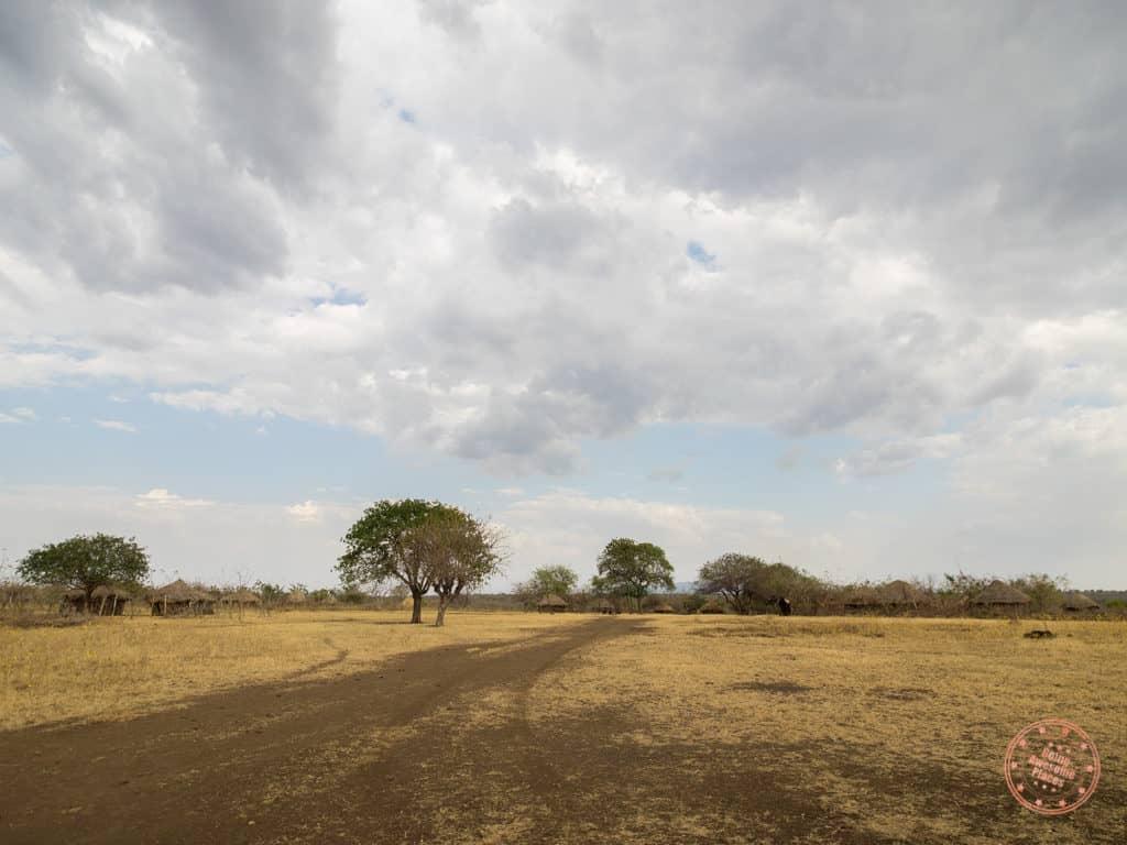Mursi Tribe Village Grounds