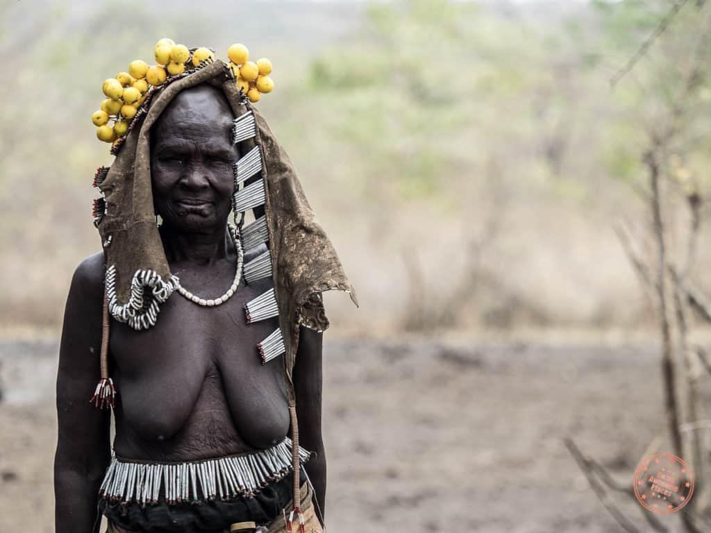 Mursi Tribe Grandma