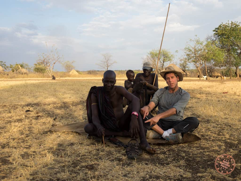 Hanging out with Mursi Tribe