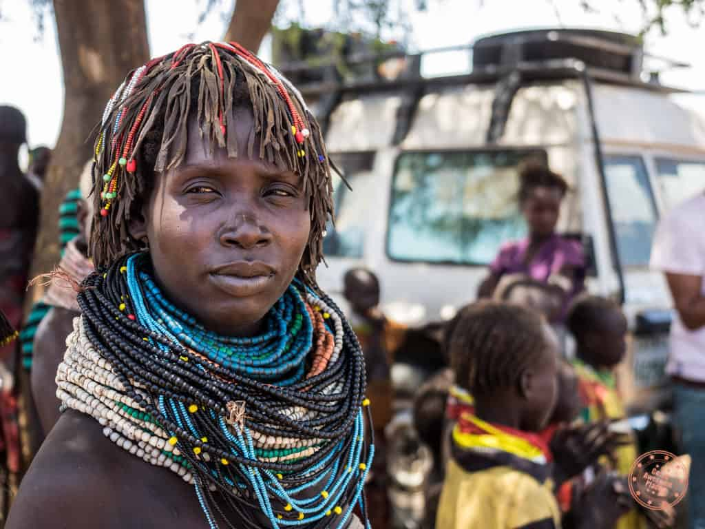 Woman of Nyangatom Tribe ethiopia travel guide for omo valley