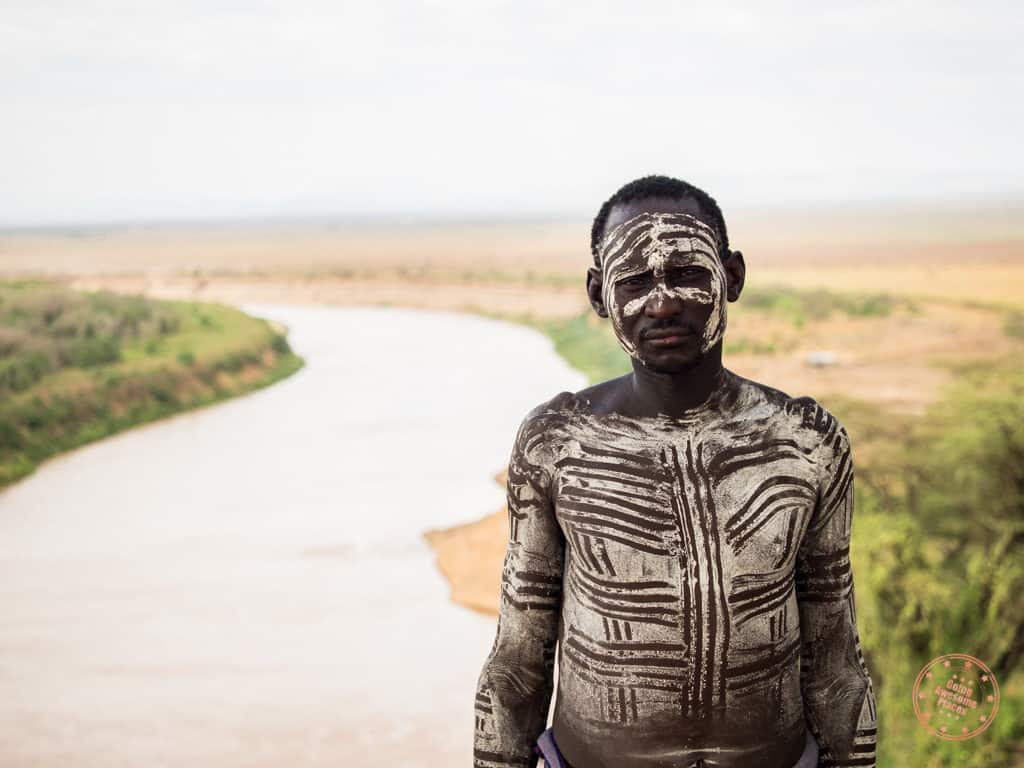 man from omo valley karo tribe in ethiopia trip planning guide