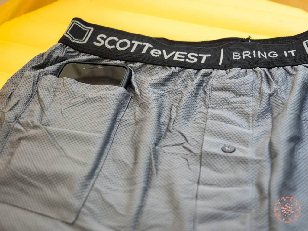 Sev Travel Boxer Pocket