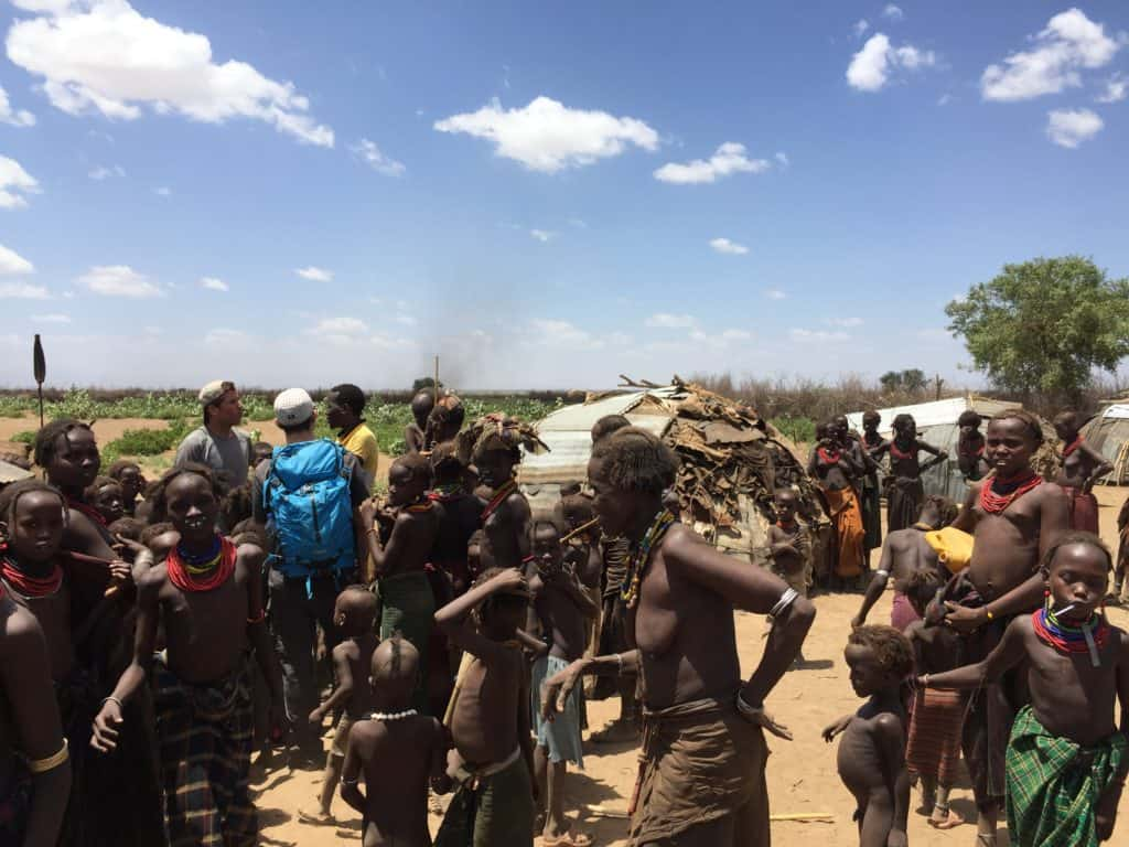 chatting with the dassenech tribe in omo valley itinerary