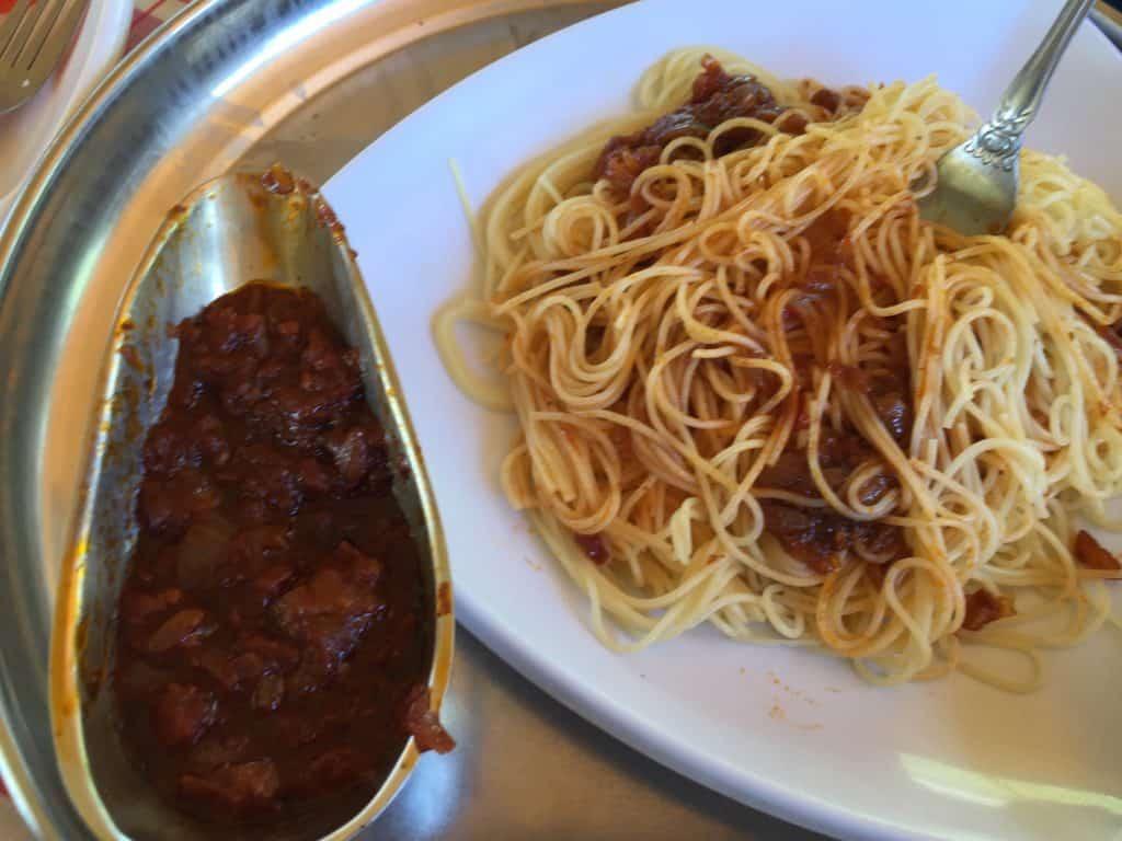 Ethiopian Pasta