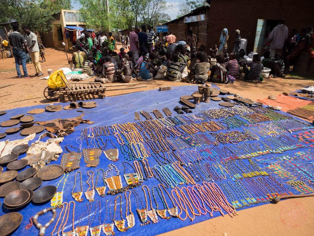 Dimeka Market Souvenirs For Tourists