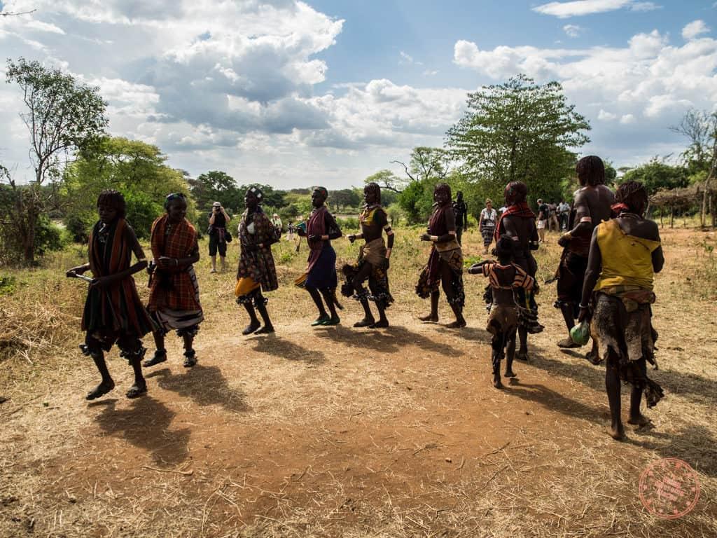 Hamar Women Dancing